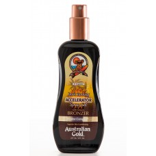 Australian Gold Spray Gel Bronzer   Ускоритель загара с бронзантами