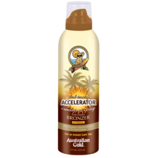 Australian Gold Dark Tanning Accelerator Continuous Spray with Instant Bronzer - Спрей для загара с бронзантами в аэрозоле