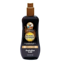 Australian Gold Intensifier Bronzing Dry Oil Spray - Масло для усиления загара на солнце с бронзаторами