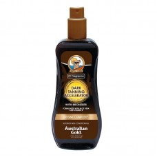 Australian Gold Dark Tanning Accelerator Spray Gel with Bronzer  Спрей гель для усиления загара с бронзантами