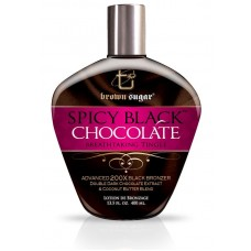 Крем для солярия с тинглами и бронзантами - SPICY BLACK CHOCOLATE Breathtaking Tingle  200X BLACK BRONZER