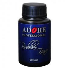 Каучуковое базовое покрытие для гель-лака - Adore Professional Rubber Base 30 мл