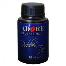 Каучуковое верхнее покрытие для гель-лака  Adore Professional Rubber Top Coat 30 мл