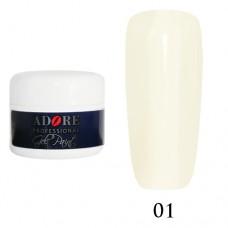 Гель - Краска Adore Professional №01 (белый)