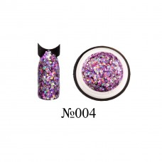 Lukum Nails  Shine Gel № 004