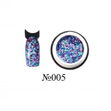 Lukum Nails  Shine Gel № 005