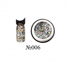 Lukum Nails  Shine Gel № 006