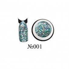 Lukum Nails  Shine Gel № 001