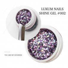 Lukum Nails  Shine Gel № 002