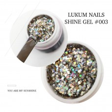 Lukum Nails  Shine Gel № 003