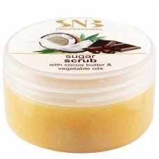 Сахарный скраб для тела  SNB Professional Sugar Scrub With Cocoa Butter and Vegetable Oils 300 мл