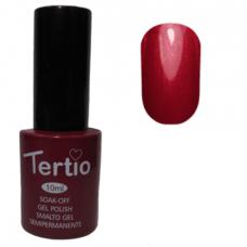 Гель-лак для ногтей Tertio Gel Polish № 07 Сливовый с микроблеском