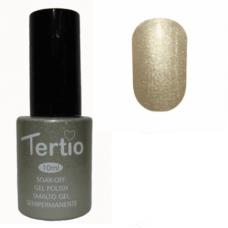 Гель-лак для ногтей Tertio Gel Polish № 08 Серо-золотистый перламутр