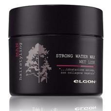 Воск для моделирования - Elgon Man Strong Water Wax Wet Look