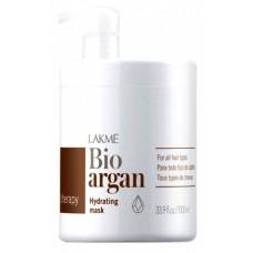 Маска с аргановым маслом - LAKME  Bio-argan hydrating mask 1000мл