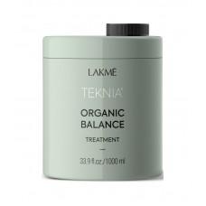 Lakme Teknia Organic Balance Treatment - Интенсивная увлажняющая маска для всех типов волос, 1000 мл