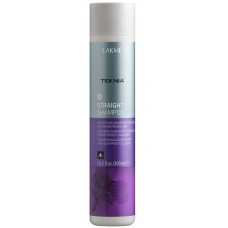 Разглаживающий шампунь для выпрямленных волoc - Lakme Straight Shampoo 300 мл