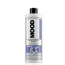 Шампунь нейтрализующий желтизну, с экстрактом черники  - MOOD  Silver specific shampoo