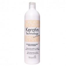 Восстанавливающее кератиновое средство для волос Nouvelle Keratin Rebuilding Smoothener 500 мл