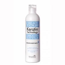 Кератиновый шампунь  Nouvelle Keratin Deep Bath Shampoo 250 мл
